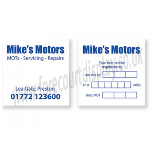 Service Stickers Automotive Kamos Sticker