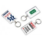 Large rectangular automotive keyring
