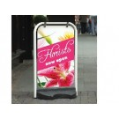 Classic Swing Pavement Signs Forecourt Display