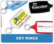 Personalised Keyrings and Keyfobs