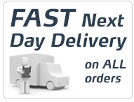 Fast, Next Day Delivery on All Orders