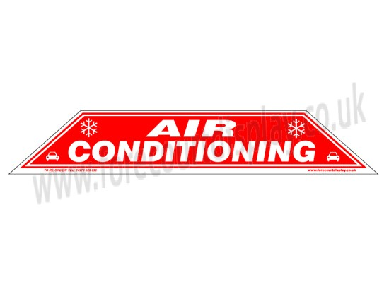 Air Conditioning Windscreen Display Flash