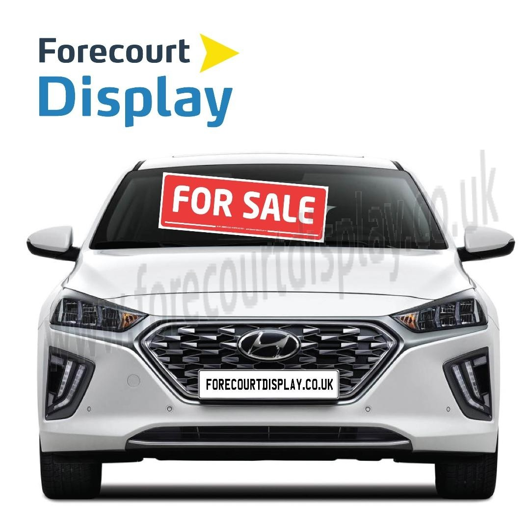For Sale Car Windscreen Display