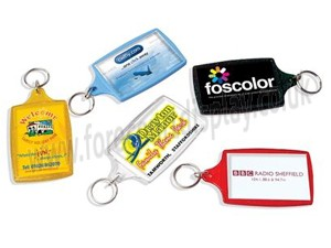 Forecourt Display Promotional Keyrings