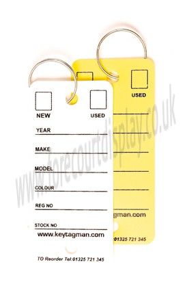 Easy Key Tags Forecourt Signs