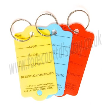 Easy Tags Key Tags Automotive Point of Sale