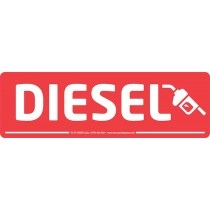 Diesel Forecourt Sign Windscreen Display