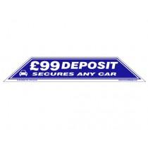 £99 Depositi Windscreen Display