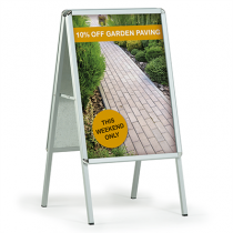 Forecourt Display Pavement Signs