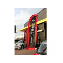 Commerical 3.1 Blade Forecourt Flag