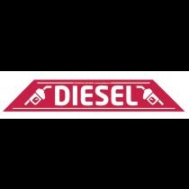 Diesel Windscreen Display 575mm x 100mm