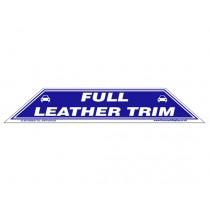 Full Leather Trim Windscreen Display Flash