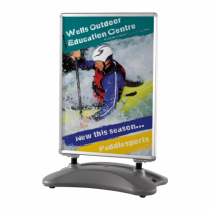 Forecourt Display Swingmaster Pavement Signs