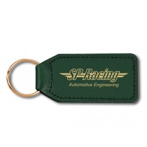 Large rectangular shaped genuine keyfob