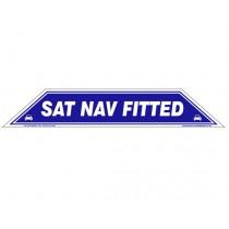 Sat Nav Fitted Windscreen Display