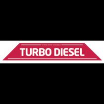 Turbo Diesel Windscreen Display 575mm x 100mm