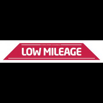 Low Mileage Windscreen Display 575mm x 100mm