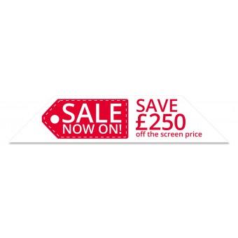 Save £250 Windscreen Display